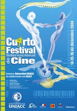 El martes 14 de diciembre se inaugura el 4º Festival Internacional de Cine Universitario-2004.